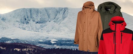 See all Hilltrek jackets: hand crafted, made from natural materials, the best performance for outdoor professionals and enthusiasts