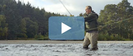The Hilltrek Dee Wading Jacket in action